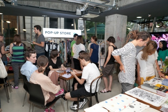 The Mark People & Pop-Up Stores @Institute, The Cafe