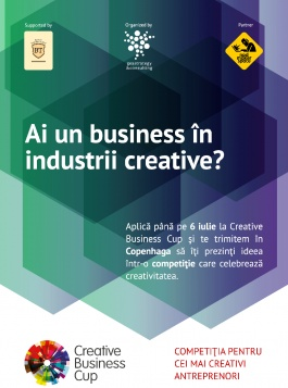 Creative Business Cup caută antreprenori creativi