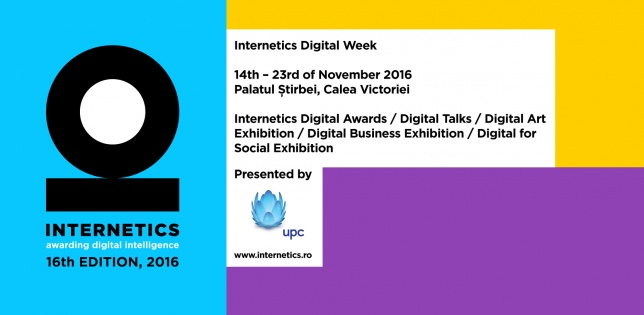 Programul Internetics Digital Week 2016