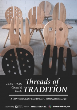 """Threads of Tradition"" la Central de Diseño din Madrid"