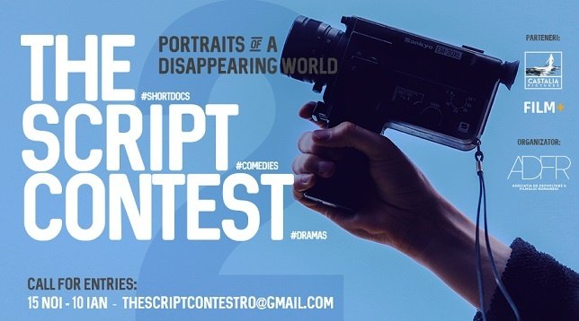 THE SCRIPT CONTEST - concurs de scenarii de scurtmetraj