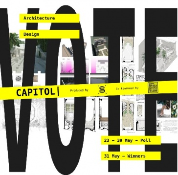 VOTE: OPEN CALL ARCHITECTURE & DESIGN – Shape the future of CAPITOL