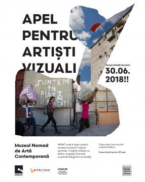 Last Call For Visual Artists / Muzeul Nomad de Artă Contemporană