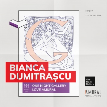 One Night Gallery, co-curatori la AMURAL – Ediția A4