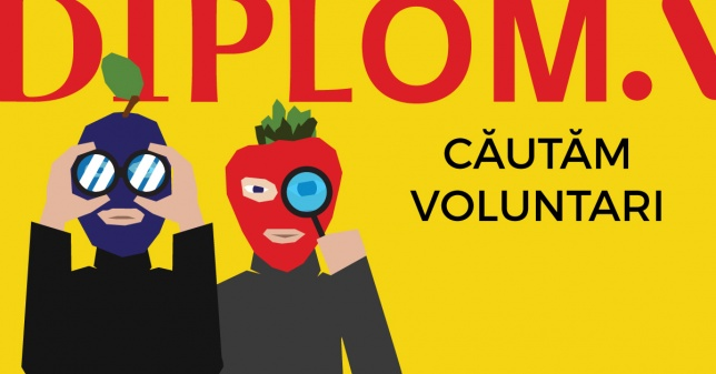 CALL FOR VOLUNTEERS @DIPLOMA 2018