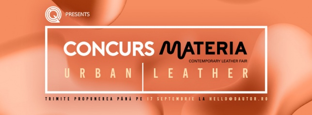 Concurs MATERIA - URBAN LEATHER
