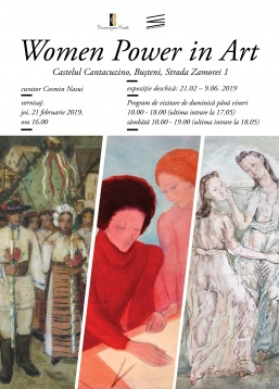 Women Power in Art: 110 artiste din 13 colecții private expuse la Castelul Cantacuzino