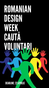 Romanian Design Week caută voluntari!