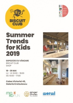 BISCUIT CLUB // SUMMER TRENDS FOR KIDS 2019