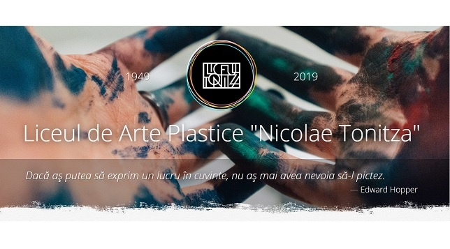 LICEUL DE ARTE PLASTICE NICOLAE TONITZA // OPEN DOORS AND STUDENTS' EXHIBITION