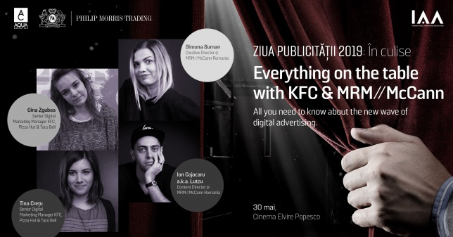 Ziua Publicității // Meet The Speakers | Everything on the table