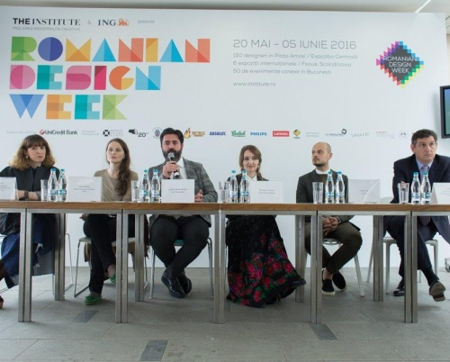 The Institute și ING Bank prezintă Romanian Design Week 2016