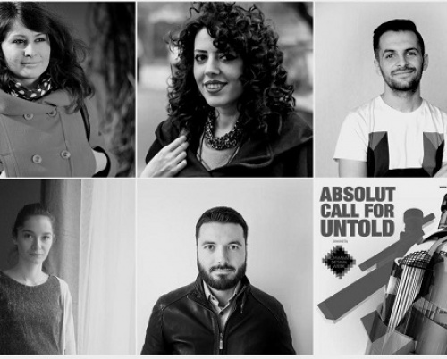 Absolut Call for Untold și-a desemnat câștigătorii