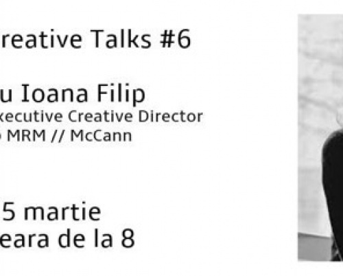 Creative Talks #6 - Ioana Filip