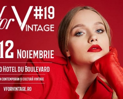 Cine vine la V for VINTAGE #19?