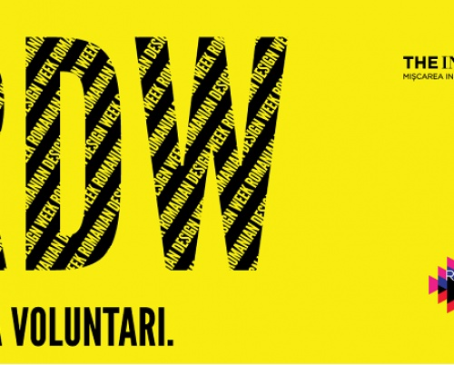 CALL FOR VOLUNTEERS @Romanian Design Week 2018