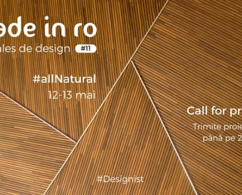 Call for projects: Made in RO #allNatural