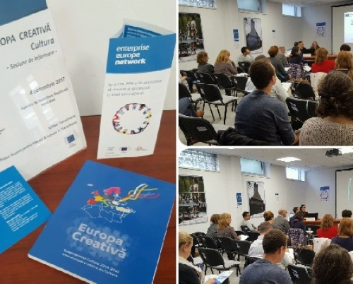 CREATIVE EUROPE DESK ROMANIA // COOPERATION PROJECTS. HOW TO FUND YOUR CREATIVE IDEAS?