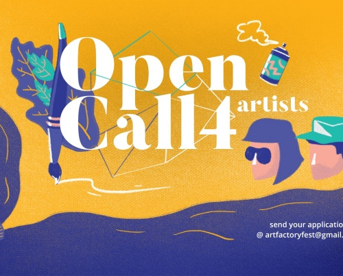 Art Factory - Open Call for artists