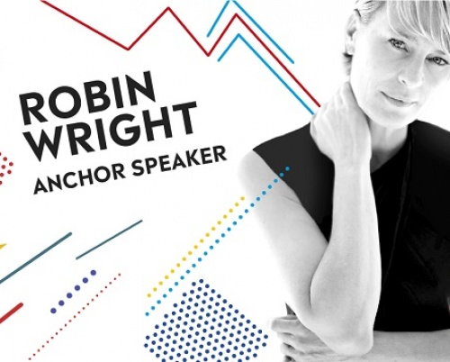 "Robin Wright la Conferința Globală IAA ""Creativity 4 Better"""