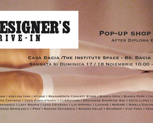 Designers Drive-in pop-up shop #12 / Diploma Edition