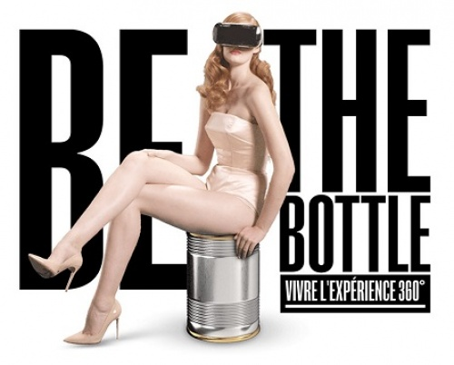 BE THE BOTTLE @Internetics Interactive Expo