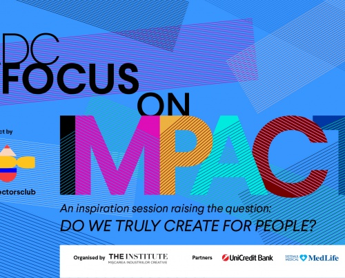 "Anu Niemonen, Kris Hoet şi Conn Bertish pe scena ""ADC Focus on Impact"""