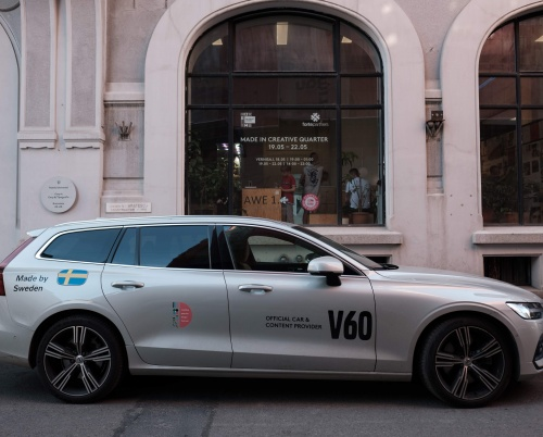 Volvo, official car & content provider CQDF
