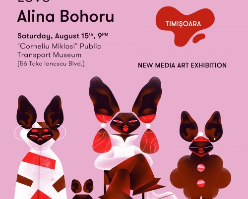Expoziția de new media art One Night Gallery,  pe 15 august la Timișoara
