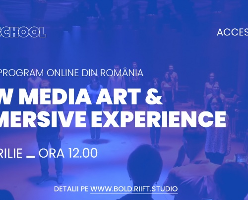 BOLD SCHOOL, un proiect educațional online dedicat New Media